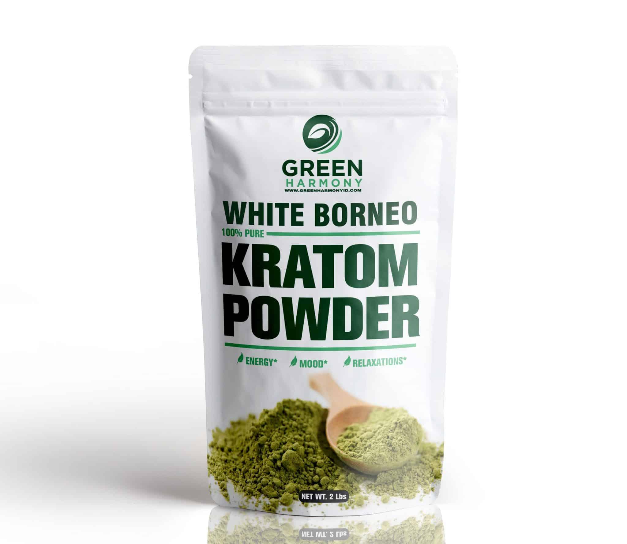 White Borneo Kratom Strains - Green Harmony Indonesia Kratom Vendor - Ensured Delivery