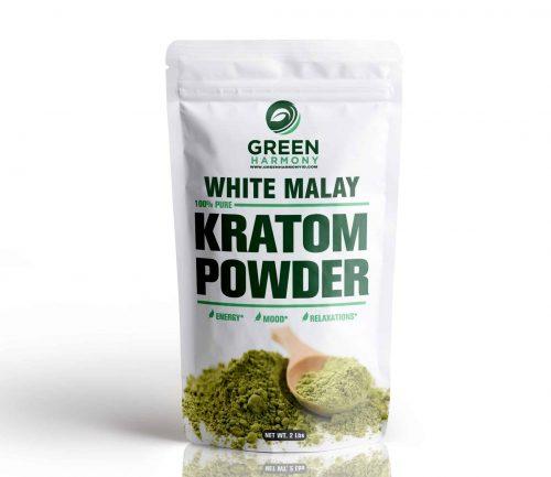 White Malay Kratom Powdered Leaf - Kratom Strains - Green Harmony Indonesia Kratom Vendor - Best Kratom for Pin Relieving -