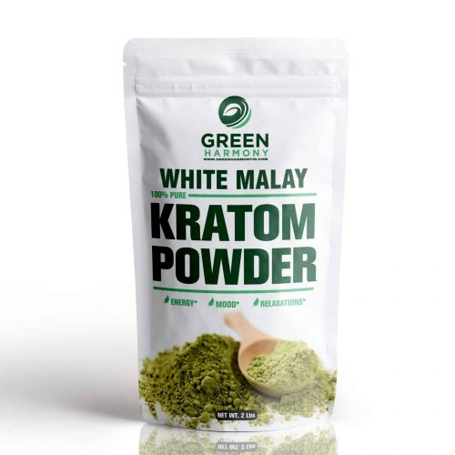 White Malay Kratom Powdered Leaf - Kratom Strains - Green Harmony Indonesia Kratom Vendor - Best Kratom for Pin Relieving -