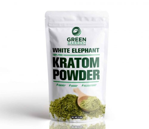 White Elephant Kratom Strains - Green Harmony Indonesia Kratom Vendor - Kratom Business