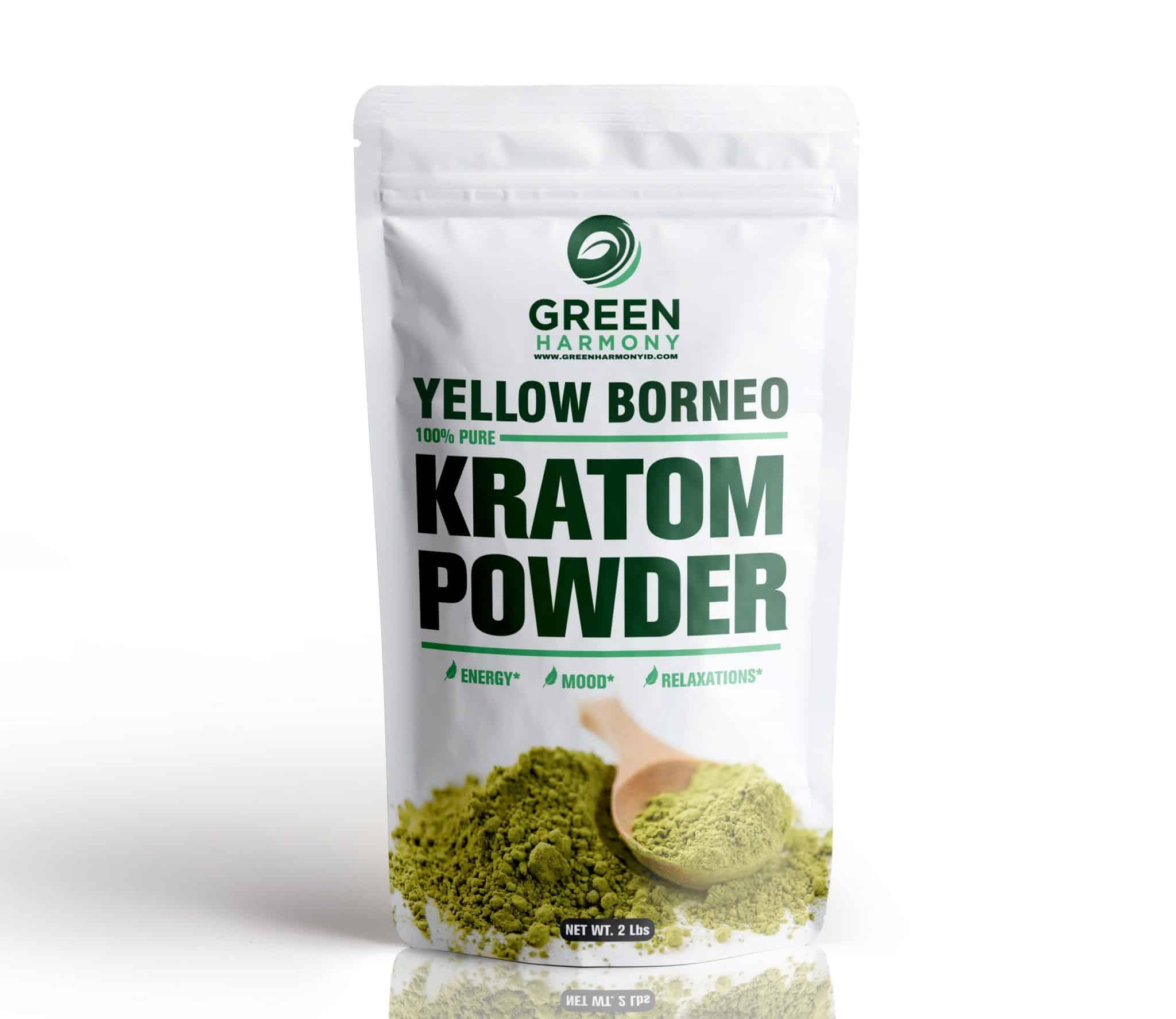 Yellow Borneo Kratom Powder - Green Harmony Indonesia Kratom Vendor - buy kratom online with confidence