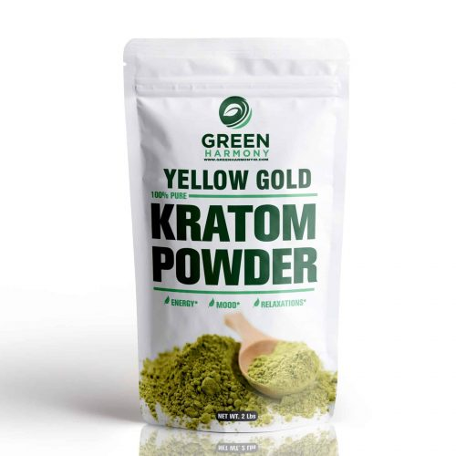 Yellow Gold Kratom Powder - Green Harmony Indonesia Kratom Vendor